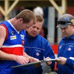 The brains trust at work.